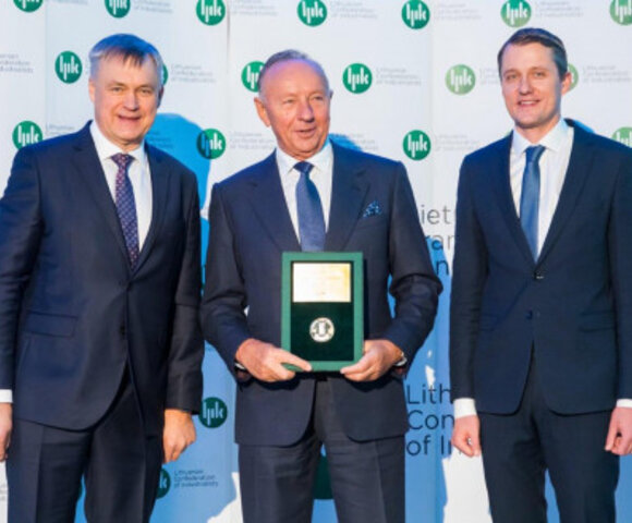 AB Lifosa product has been awarded as the Lithuanian Product of the Year